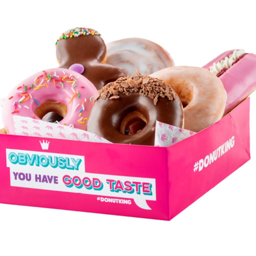 Pick and Mix Donut Box