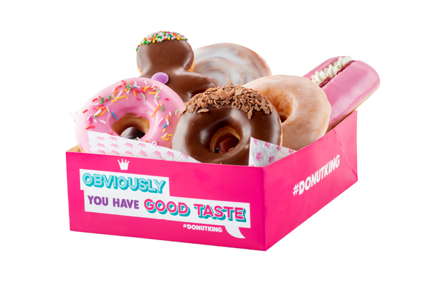 Pick and Mix Donut Box